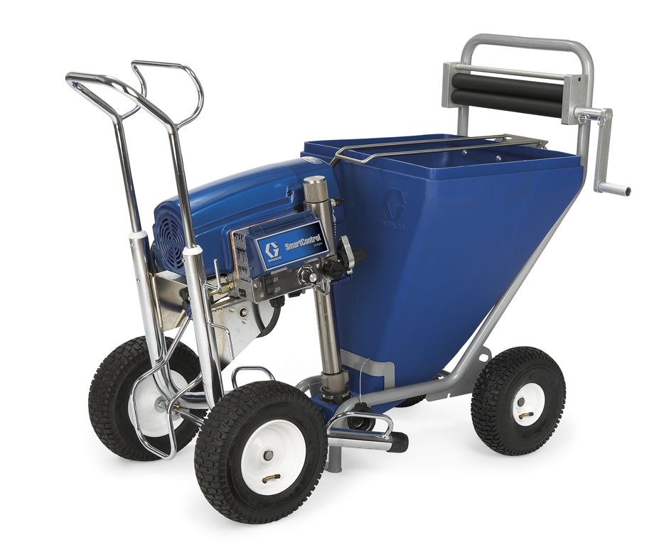 Graco MkV with hopper & roller
